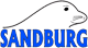 "Sandburg logo: seal and the word ""Sandburg"""